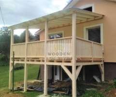 Wooden Drevená Terasová Konštrukcia 1