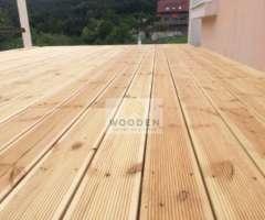 Wooden Drevená Terasová Konštrukcia 2