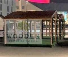 Wooden Dreveny Predajny Stanok 02