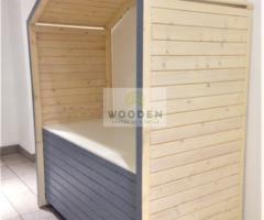 Wooden Predajné Stánky 1