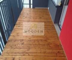 Wooden Terasova Doska 12