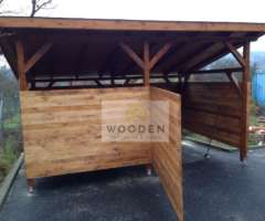 Wooden Viacucelovy Pristresok 13