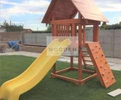 Wooden Zahradny Detsky Domcek 02