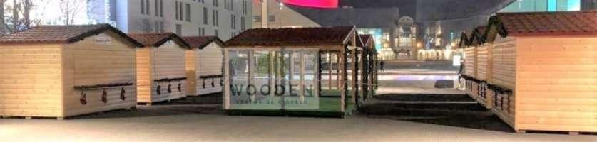 Wooden Dreveny Domcek 02