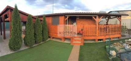 Wooden Zahradna Chatka 01