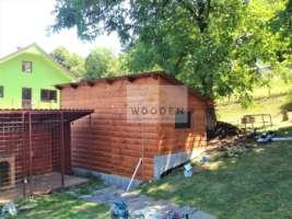 Wooden Zahradny Domcek 02
